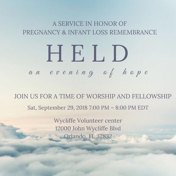 Sep 30 · Held: an evening of hope — Nextdoor