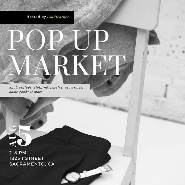 Aug 5 · Vintage Pop Up Market! — Nextdoor