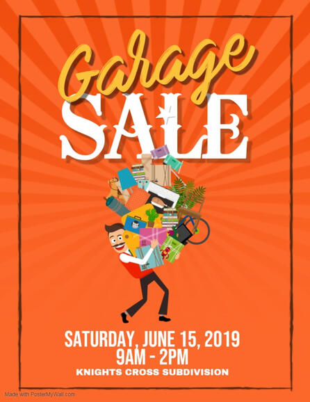 Jun 15 · Knights Cross Community Garage Sale — Nextdoor
