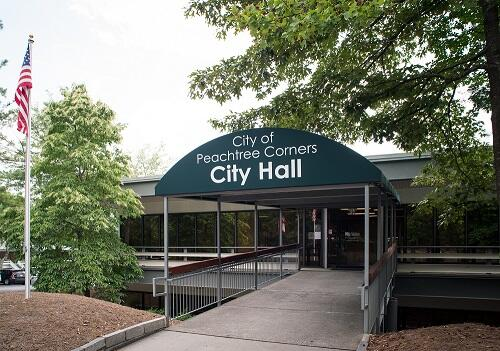Image result for Peachtree corners city hall images