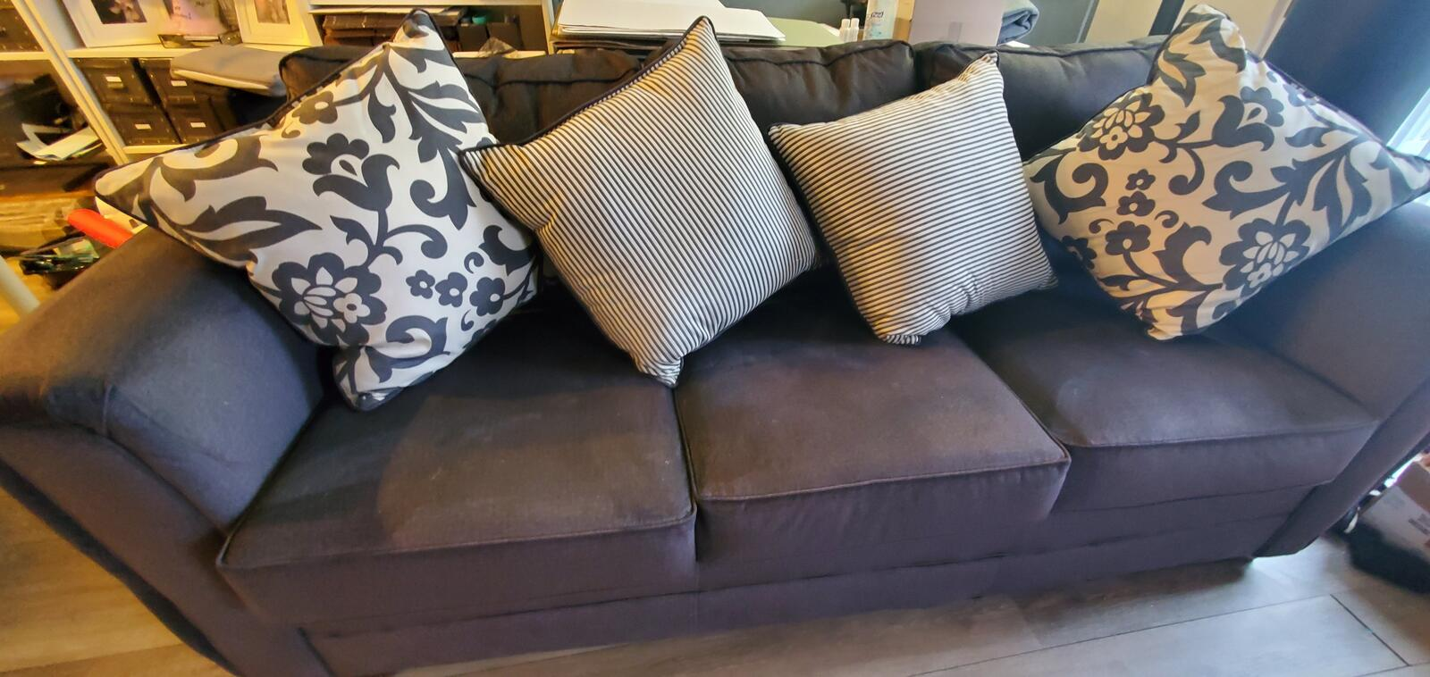 250 Dark Gray Couch Nextdoor