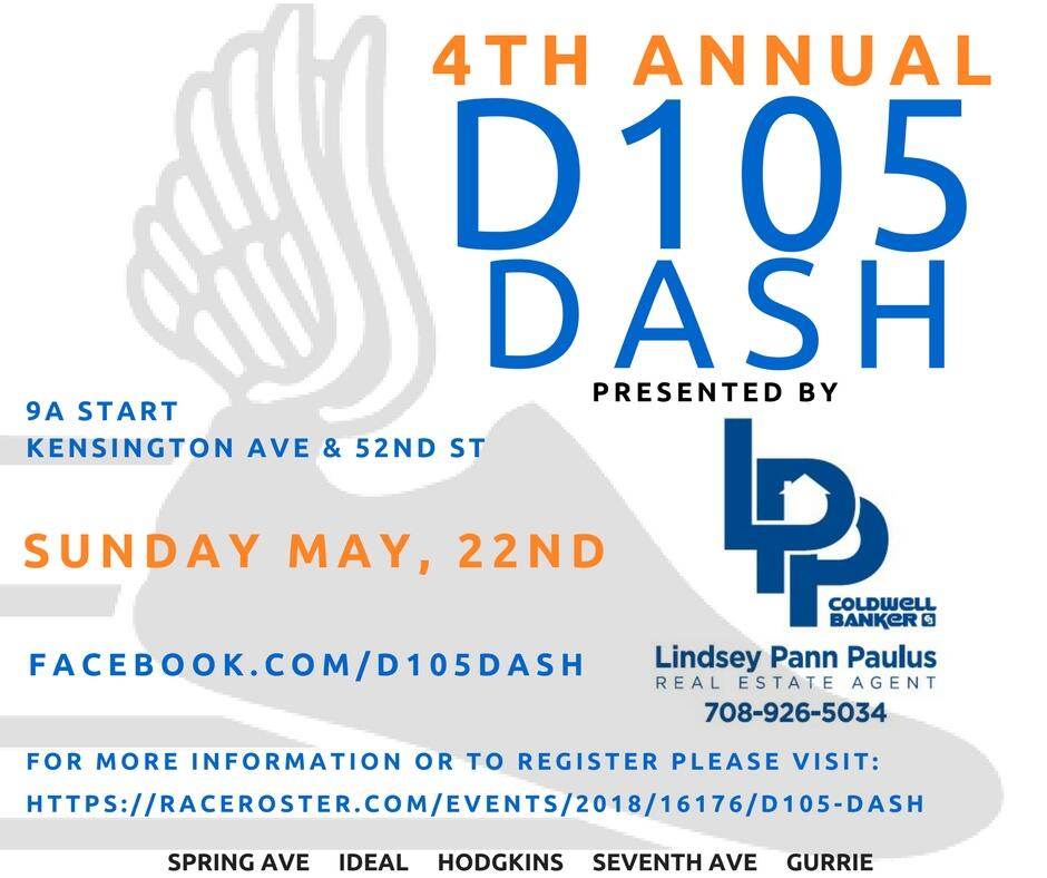 May 20 · THE D105 DASH 5K & 1 5 Mile Fun Run presented by
