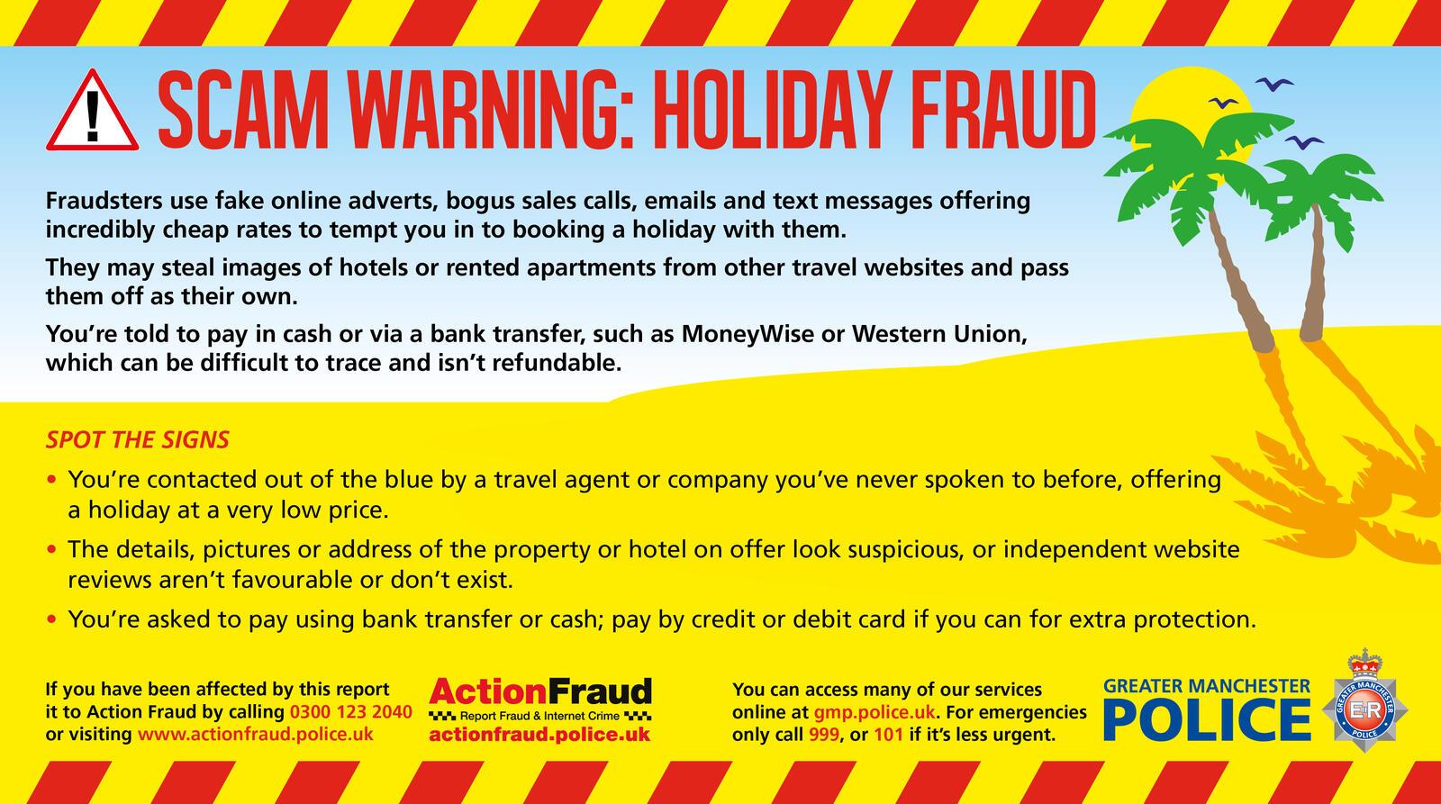 Scam Of The Week Greater Manchester Police Salford Mdash Nextdoor Nextdoor