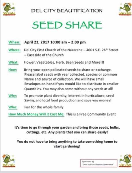 Apr 22 · Seed Share Event — Nextdoor