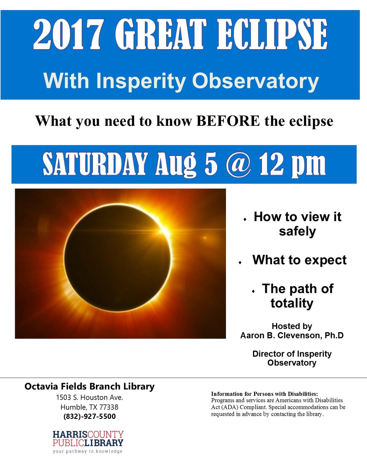 2017 Great Eclipse with Insperity Obeservatory - Octavia
