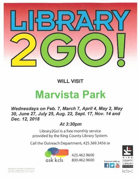 Mar 7 · Library 2Go at Marvista Park — Nextdoor
