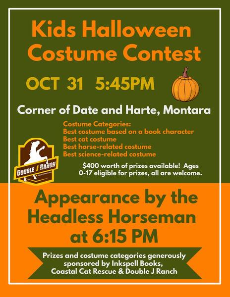 oct 31 kids halloween costume contest nextdoor