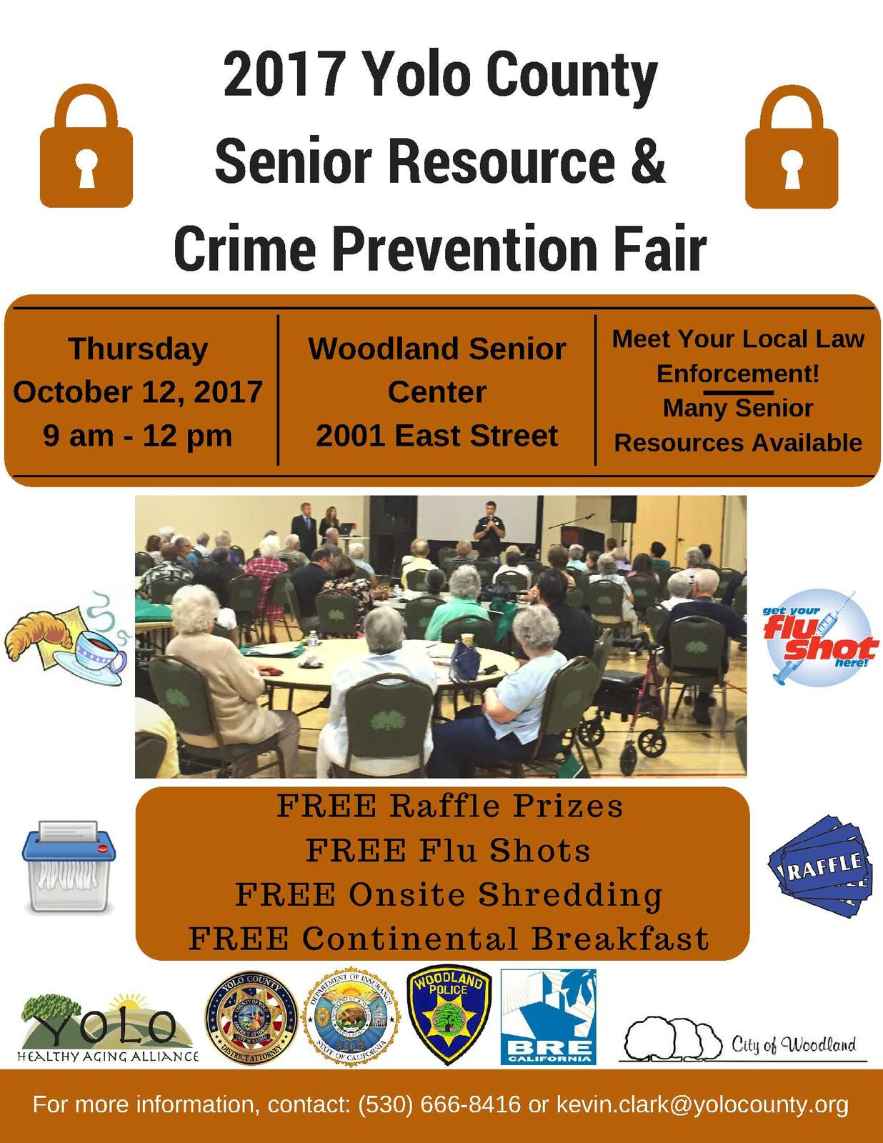 2017 Senior Resources and Crime Prevention Fair Winters Police