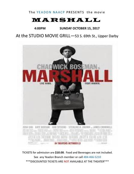 Oct 15 Movie Screening Marshall Nextdoor