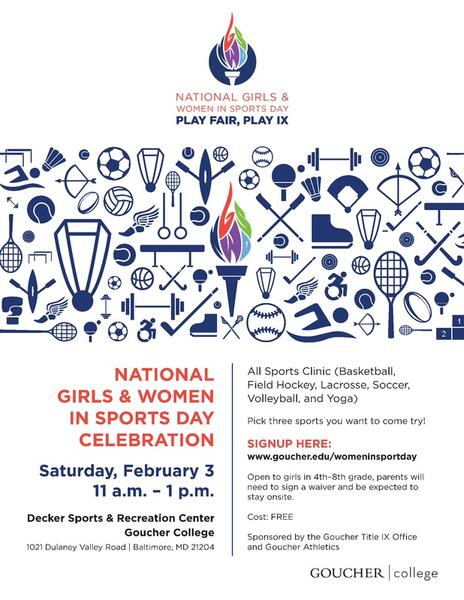 Feb 3 · National Girls and Women in Sport Day - Youth Sports