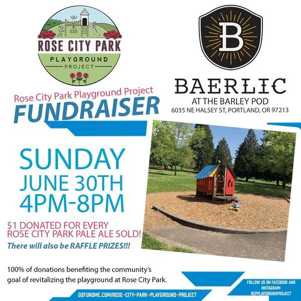 Jun 30 · Rose City Park Playground Project Fundraiser