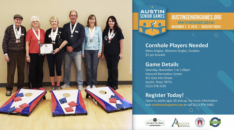Cornhole Event at Hancock Recreation Center (City of Austin