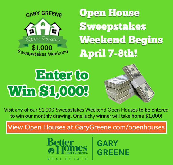 Apr 8 · $1,000 Open House Sweepstakes - Enter To Win Sunday at 1212