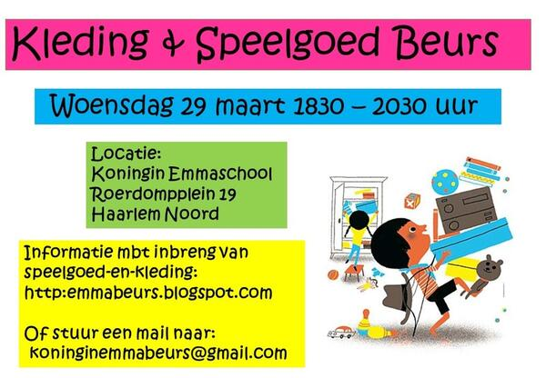 Kinderkleding Haarlem.29 Mrt 2017 Speelgoed En Kinderkleding Beurs Nextdoor
