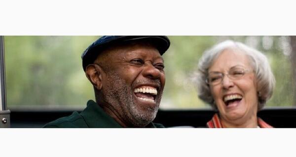 Senior citizen speed dating