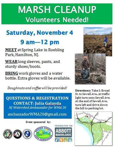 Nov 4 · Hamilton Township Spring Lake Cleanup — Nextdoor