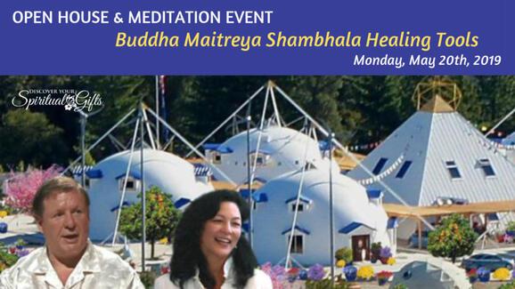May 20 · Buddha Maitreya Shambhala Healing Tools Open House