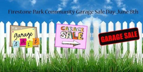 Jun 8 Firestone Park 3rd Annual Community Garage Sale Day Nextdoor