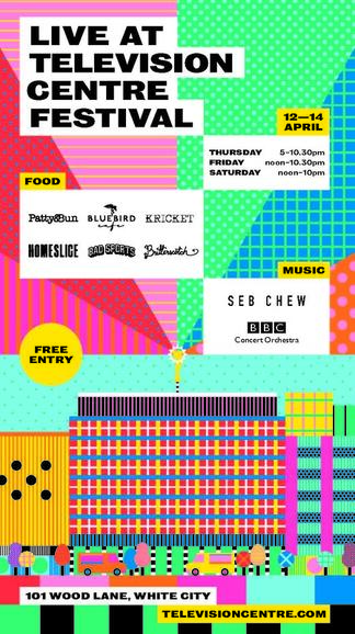 12 Apr 2018 · Television Centre Opening Festival // Thurs 12