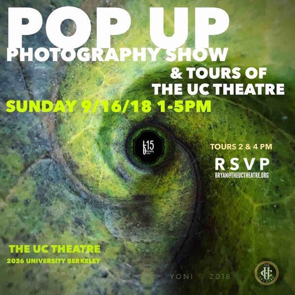 Sep 16 · Pop Up Photography Show & Tour — Nextdoor