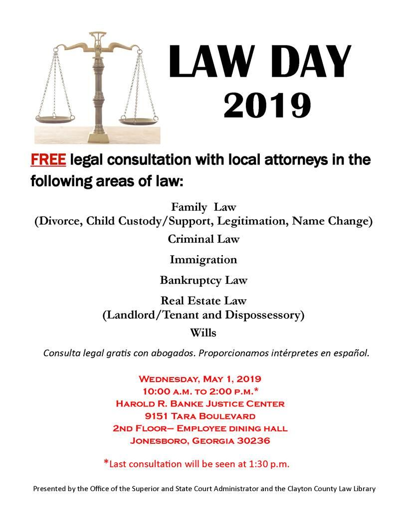Law Day 2019 (Clayton County Board of Commissioners Office