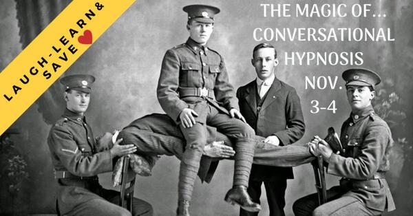 Nov 3 · The Magic of Conversational Hypnosis — Nextdoor