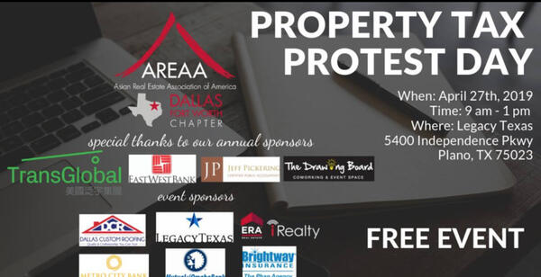 Apr 27 · Property Tax Protest Day, Save the Date! — Nextdoor