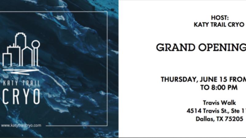 Jun 15 · Katy Trail Cryo Grand Opening Party! — Nextdoor