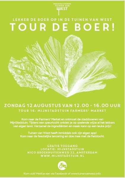 De Tuinen Van West Amsterdam.12 Aug 2018 Tour De Boer Bij Mijnstadstuin Nextdoor