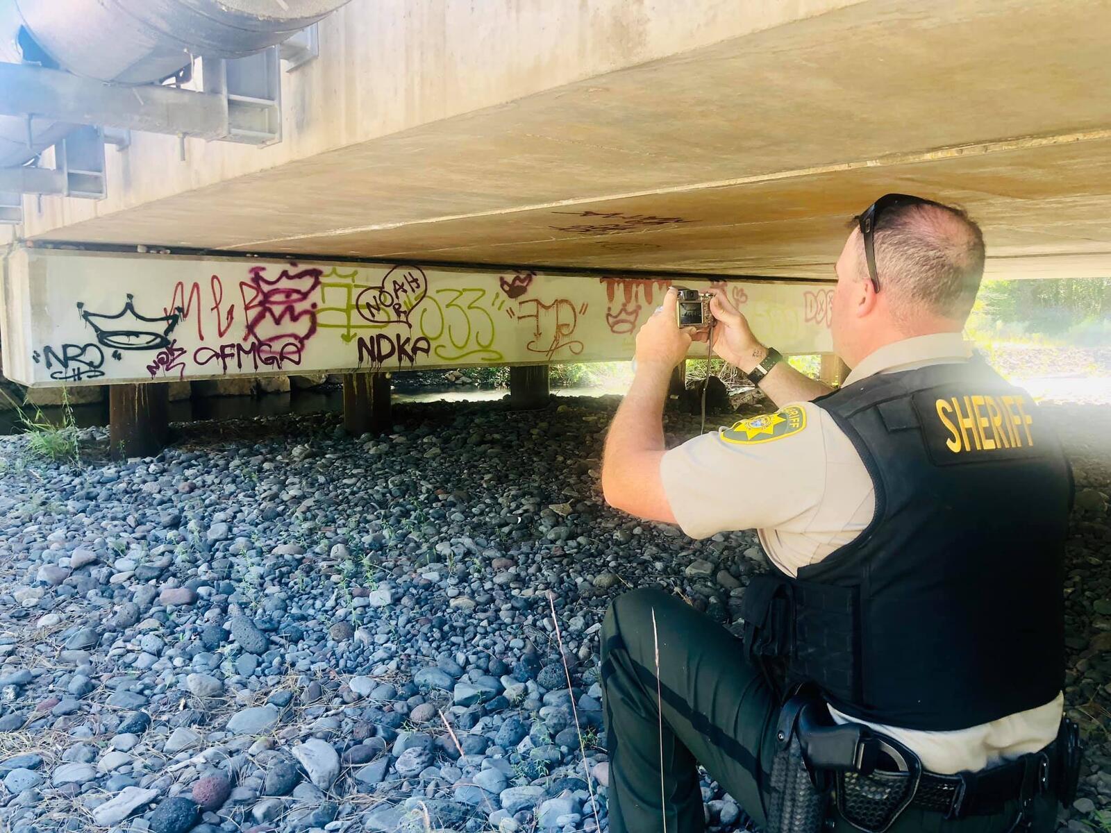 Sisters Area Graffiti Investigation (Deschutes County