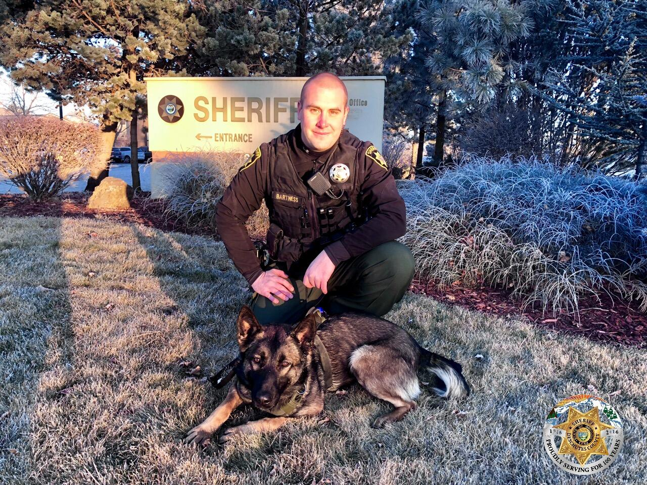 DCSO'S NEWEST K9 'MASA' HITS THE STREETS (Deschutes County