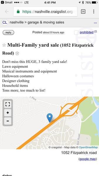Oct 14 Huge Multi Family Yard Sale Nextdoor