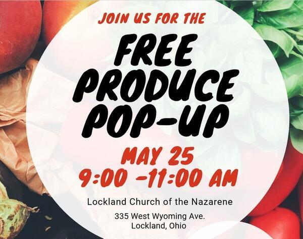 May 25 · Free Produce Pop-up Event — Nextdoor