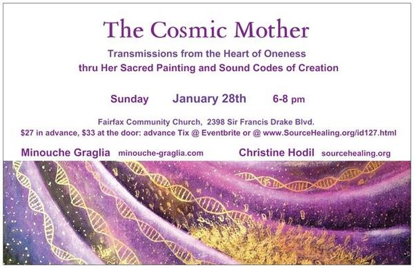 Jan 28 · The Cosmic Mother  A living Art piece  Visual and Sound