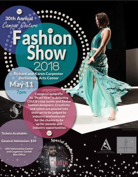 May 11 30th Annual Fashion Show Csulb Campus Couture Nextdoor