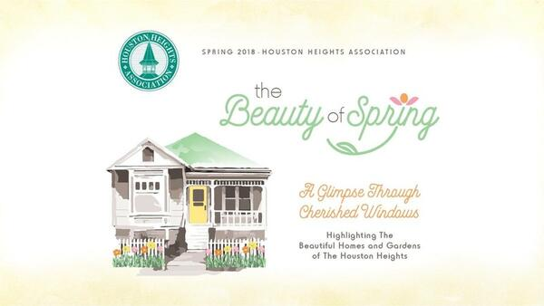 2018 Houston Heights Spring Home U0026 Garden Tour: The Beauty Of Spring