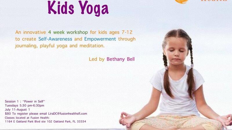Jul 11 Kids Yoga Workshop Nextdoor