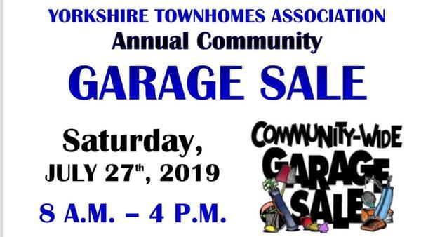 Jul 27 · Community Garage Sale! — Nextdoor
