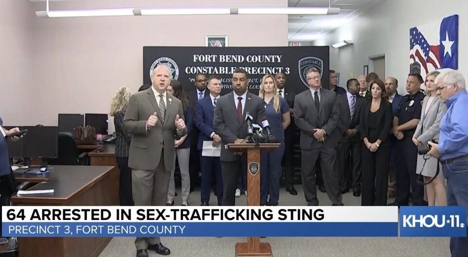 Trafficking Arrests - A Must Watch (Fort Bend County