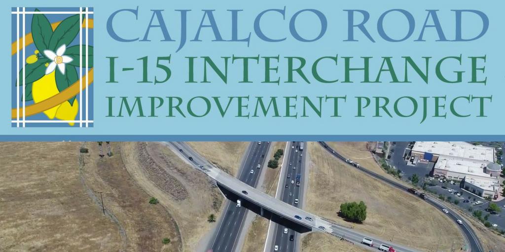 Cajalco Road I-15 Interchange Improvement Project (City of