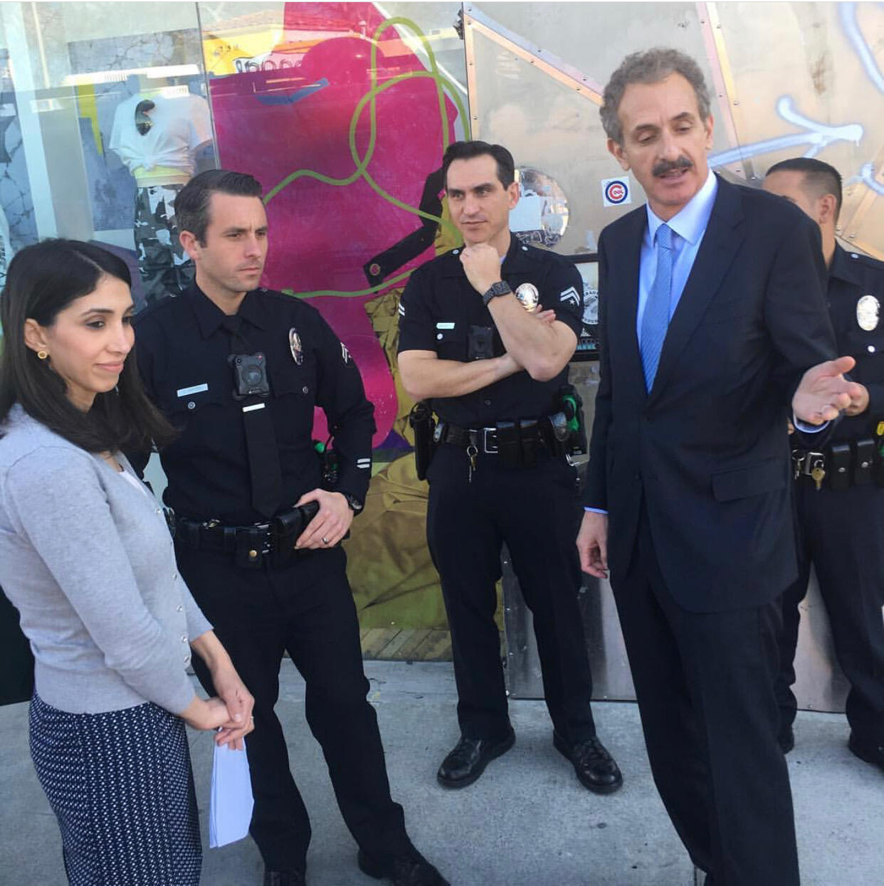 Community Briefing (Los Angeles Police Department) &mdash