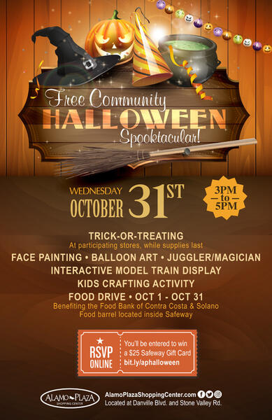 oct 31 halloween event alamo plaza nextdoor walnut creek halloween events