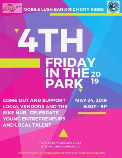 May 24 · Unity At The Park — Nextdoor