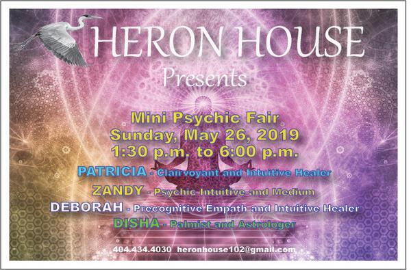 May 26 · Mini Psychic Fair at The Heron House May 26 — Nextdoor