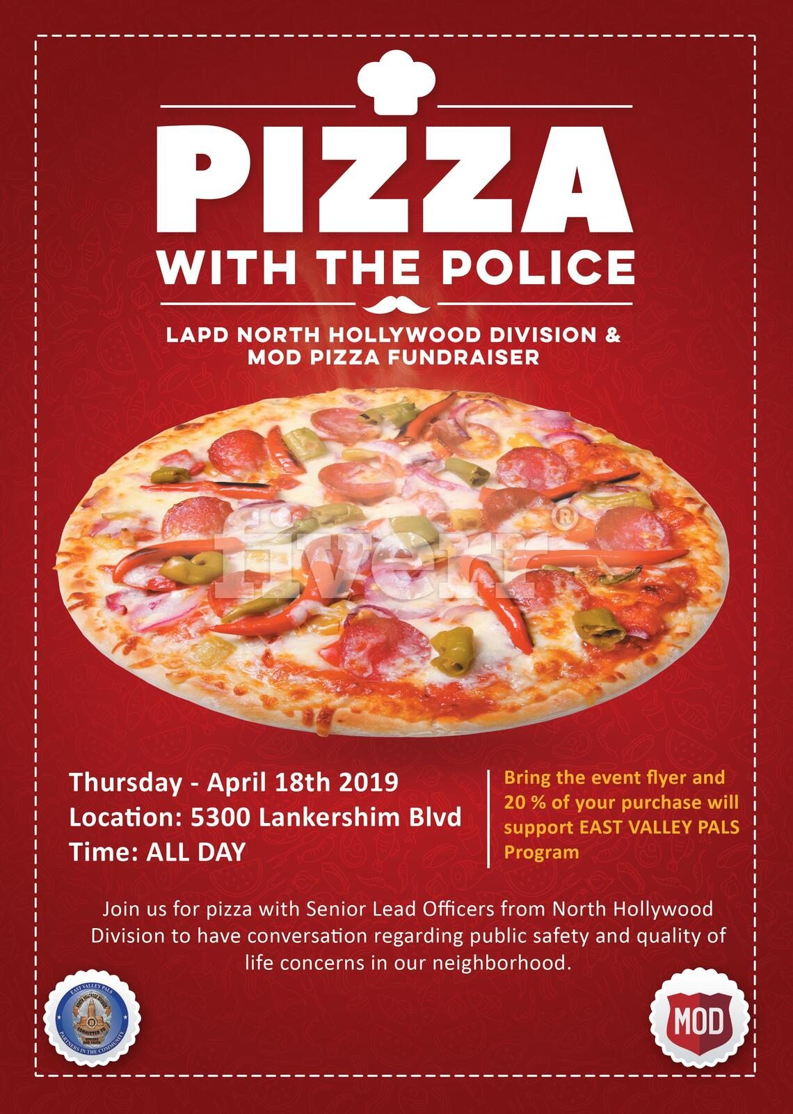 LAPD - North Hollywood Community Police Station Fundraiser