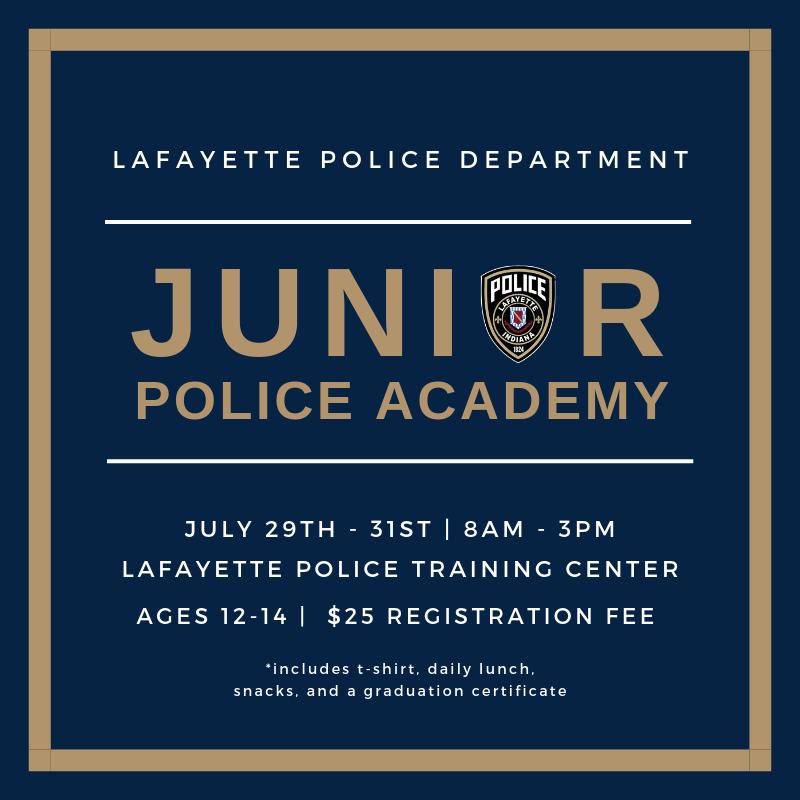 2019 LPD Junior Police Academy (Lafayette Police Department) &mdash