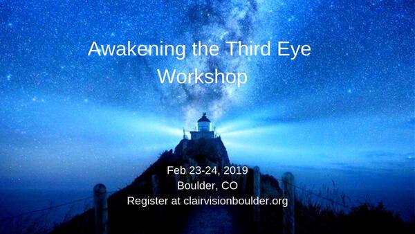 Feb 23 · Awakening the Third Eye Workshop — Nextdoor