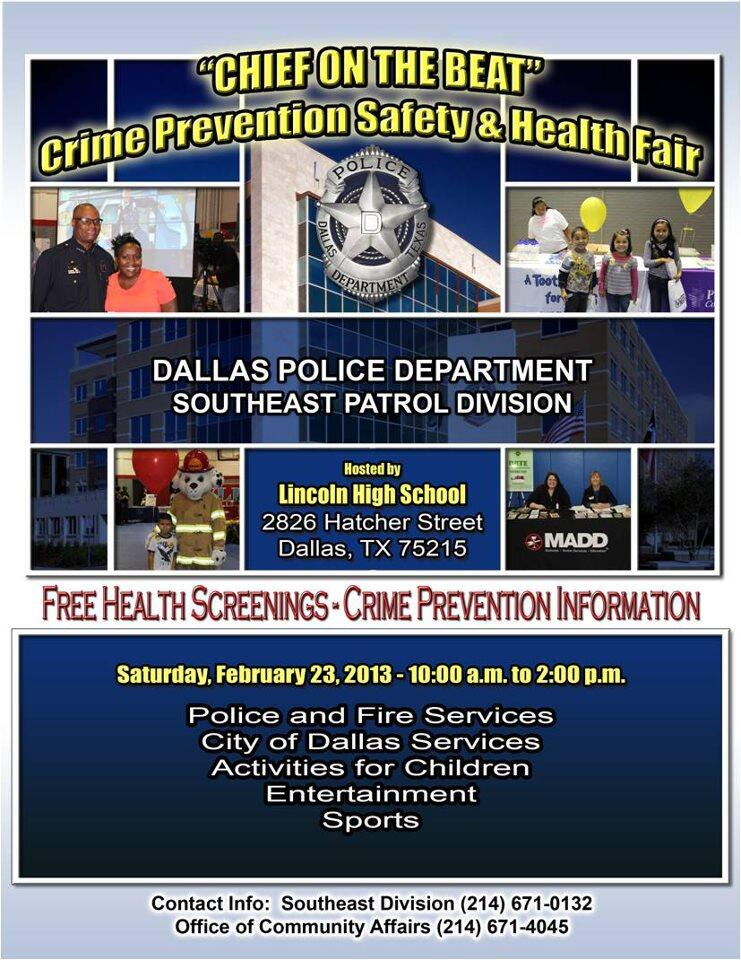 Southeast Patrol Division - Chief on the Beat (Dallas Police
