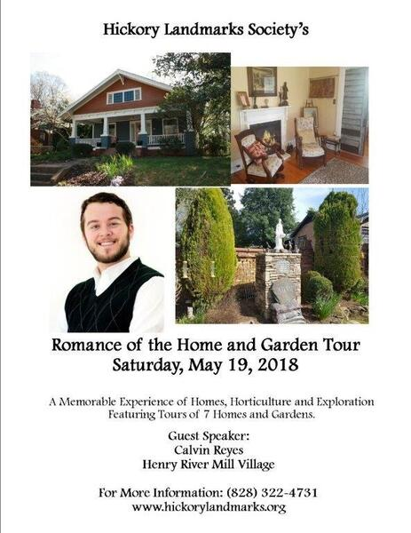Youu0027re Invited: Hickory Landmarks Societyu0027s 2018 Home And Garden Tour 5/19!