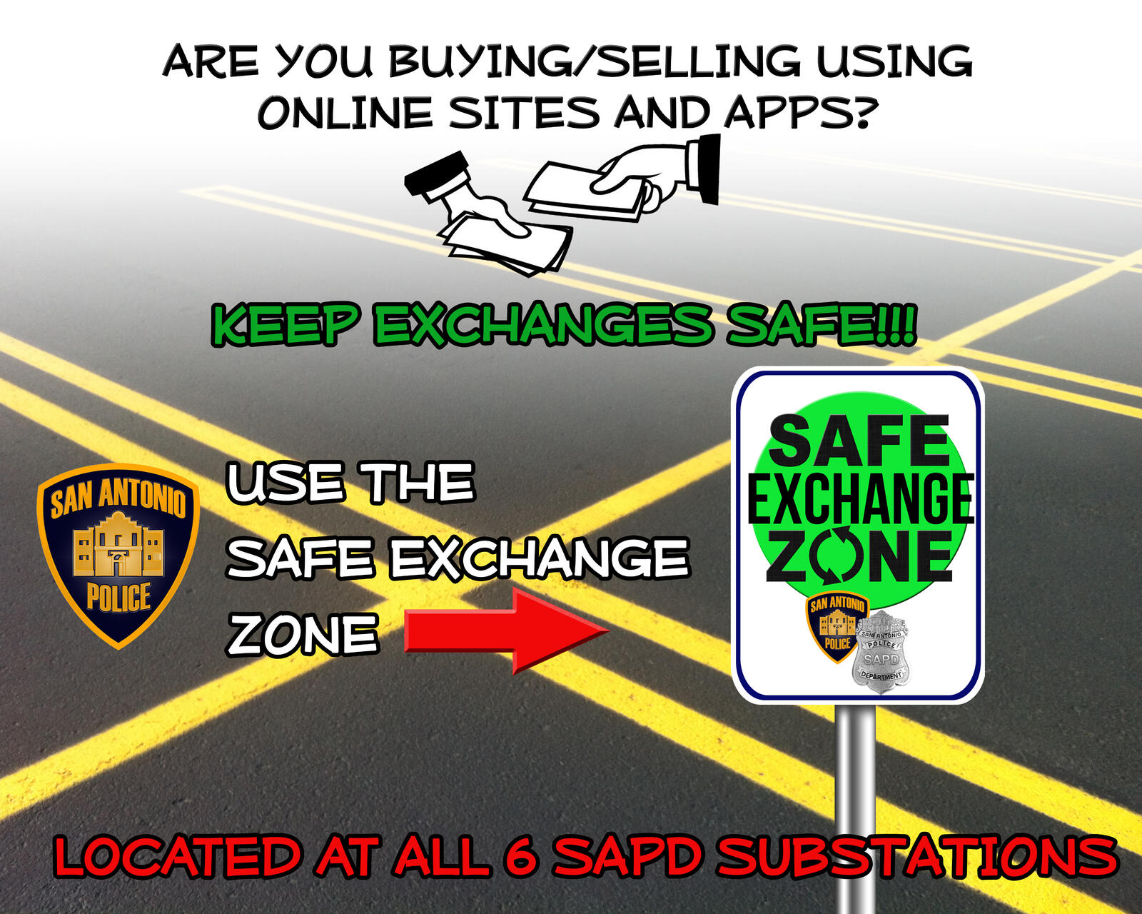 Safe Exchange Zones (San Antonio Police Department) &mdash